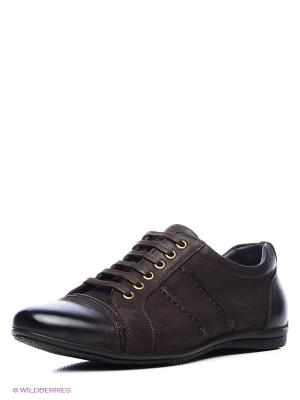 Туфли Mario Ponti. Цвет: коричневый, черный