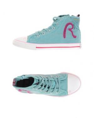 Высокие кеды и кроссовки REPLAY & SONS. Цвет: бирюзовый