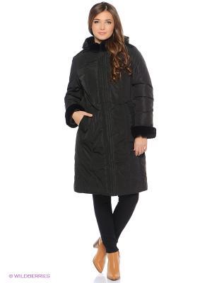 Пальто X'cluSIve. Цвет: черный