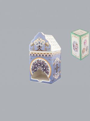 Банка для чайных пакетиков Калейдоскоп Elan Gallery. Цвет: золотистый, белый, черный