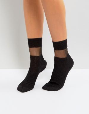 Jonathan Aston Черные носки Fame. Цвет: черный