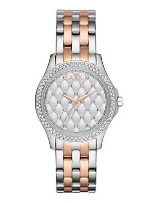 Часы Armani Exchange. Цвет: золотистый, серебристый, розовый