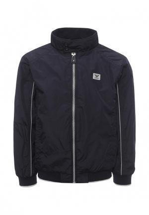 Куртка Armani Junior. Цвет: синий