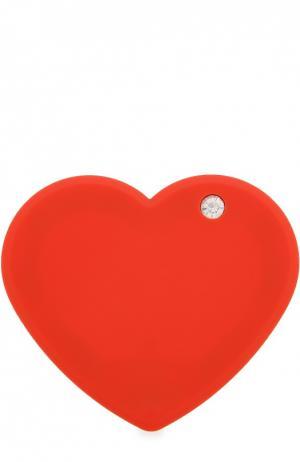 Внешний аккумулятор Power Of Love с набором переходников Iphoria. Цвет: красный