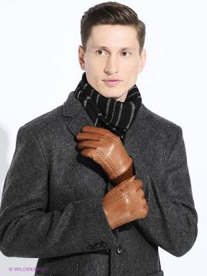 Перчатки мужские Piero. Цвет: коричневый