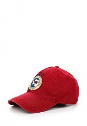 Бейсболка Napapijri. Цвет: красный