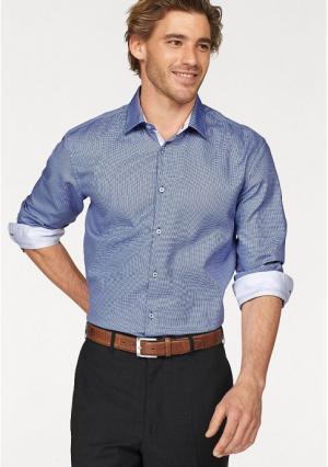 Рубашка Class International. Цвет: белый/синий с рисунком
