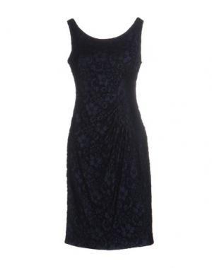 Платье до колена JOSEPH RIBKOFF. Цвет: темно-синий