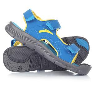 Сандалии детские Anta W31726980-2 Blue. Цвет: синий,желтый
