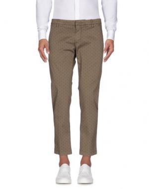 Повседневные брюки MICHAEL COAL. Цвет: зеленый-милитари