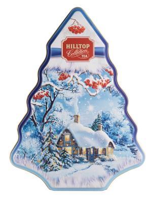 Чай Hilltop Традиции Цейлона 100 г.,елка Снежная. Цвет: черный
