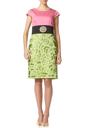 Dress Niza. Цвет: pink, green, black