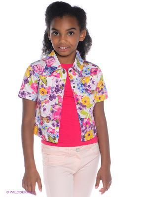 Куртка S`Cool. Цвет: розовый, белый, голубой, желтый, салатовый