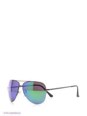Солнцезащитные очки Vittorio Richi. Цвет: синий