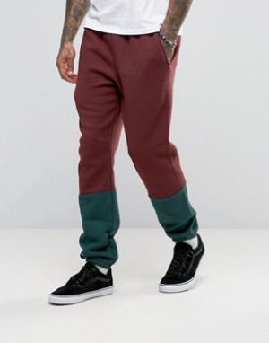 American Apparel Спортивные штаны колор блок. Цвет: красный