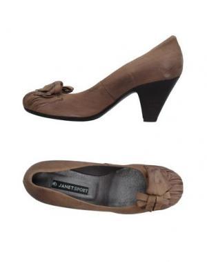 Туфли JANET SPORT. Цвет: песочный