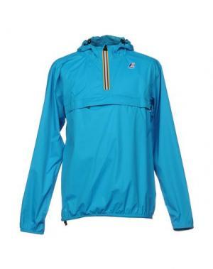 Куртка K-WAY. Цвет: лазурный