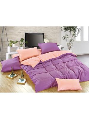 Комплекты постельного белья, DUE DI FIORI, Евро KAZANOV.A.. Цвет: фиолетовый