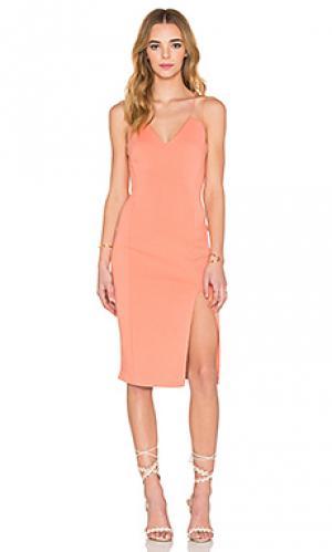 Платье cragside Bailey 44. Цвет: персиковый