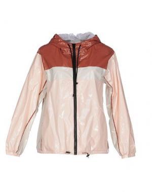 Куртка SUOLI. Цвет: светло-розовый