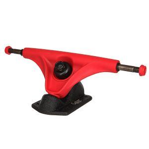 Подвески для скейтборда лонгборда 2шт.  Mission Red/Black 6 (22.2 см) Eastcoast. Цвет: черный,красный