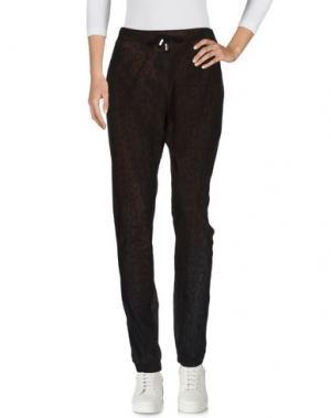Повседневные брюки JIJIL. Цвет: темно-коричневый