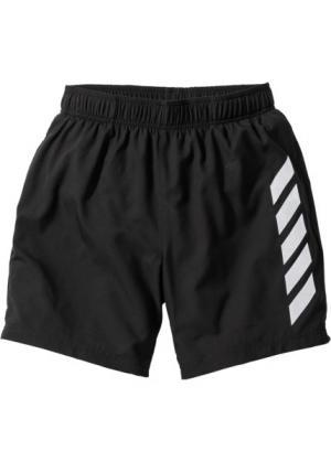 Длинные функциональные шорты Regular Fit (черный) bonprix. Цвет: черный