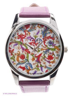 Часы Mitya Veselkov Райский сад. Цвет: фиолетовый