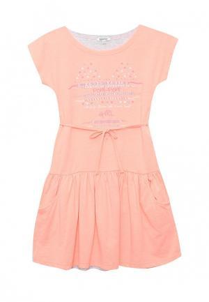 Платье 3 Pommes. Цвет: розовый