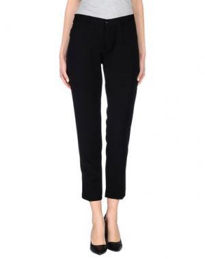 Повседневные брюки SANDRO FERRONE. Цвет: черный
