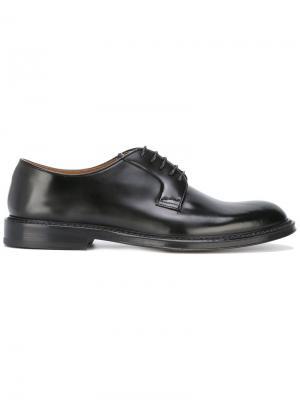 Классический туфли Оксфорды Doucals Doucal's. Цвет: чёрный