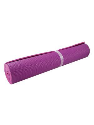 Коврик для йоги (двойной) 173*61*0,6. Atemi. Цвет: лиловый