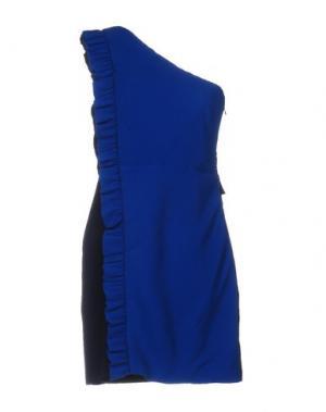 Короткое платье SANDRO. Цвет: синий