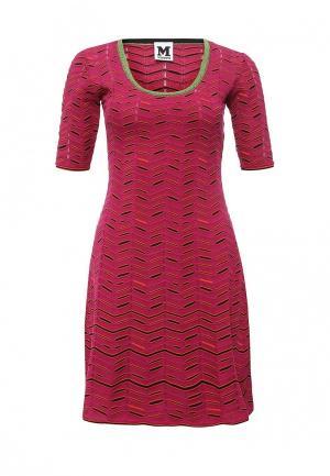 Платье M Missoni. Цвет: фуксия