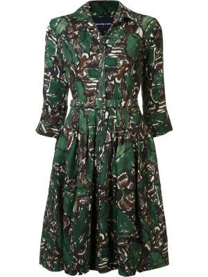 Платье Claire Samantha Sung. Цвет: зелёный