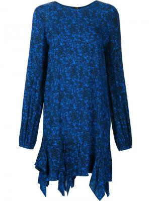 Платье Luster Thomas Wylde. Цвет: синий