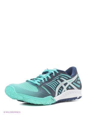 Спортивная обувь fuzeX TR ASICS. Цвет: белый, серый, синий