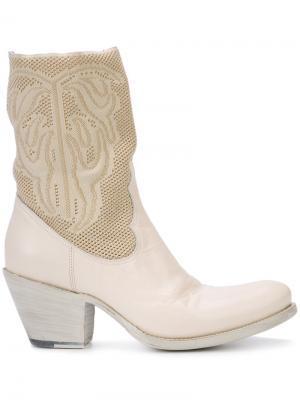 Ковбойские ботинки Rocco P.. Цвет: белый