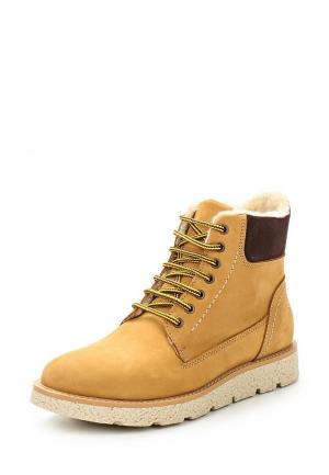 Ботинки Marco Tozzi. Цвет: бежевый