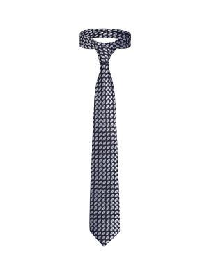 Классический галстук Жизнь в Питтсбурге ромб Signature A.P.. Цвет: синий, черный