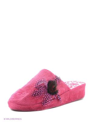 Тапочки Effa. Цвет: розовый