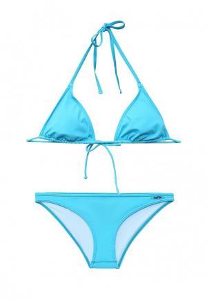 Купальник Fashy. Цвет: голубой