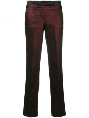Строгие брюки металлик LAutre Chose L'Autre. Цвет: чёрный