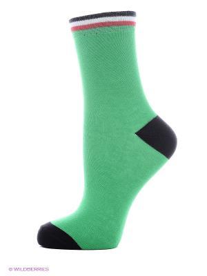 Носки Хох. Цвет: зеленый, красный, желтый