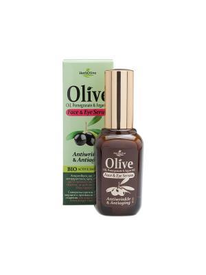 Герболив сыворотка против морщин и признаков старения для лица кожи вокруг глаз, 30мл Madis S.A.. Цвет: коричневый