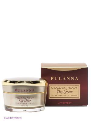 Восстанавливающий дневной крем Day Cream Hydro-Balance Control, 50 г PULANNA. Цвет: бордовый