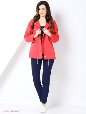 Куртка КАЛIНКА. Цвет: красный