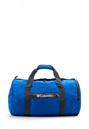 Сумка спортивная Columbia. Цвет: синий