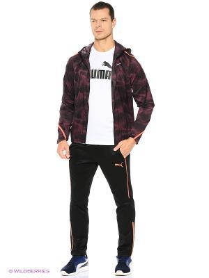 Ветровка M NK SHLD IMP LT JKT HD PR Nike. Цвет: бордовый, темно-красный
