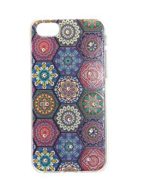 Чехол для iPhone 7 Lola. Цвет: фиолетовый, желтый